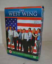 The West Wing Complete Season 2 DVD Box Set,  Martin Sheen, Rob Lowe, Allis