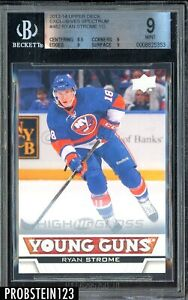 2013-14 UD Exclusives Spectrum Young Guns #482 Ryan Strome RC 8/10 BGS 9