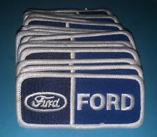 24 Lot Rare Vintage Ford Car Club Iron On Jacket Hat Patches Crests