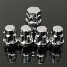 1 Set M12x1.5 Alloy Wheel Lock Nuts 60° Degree Taped + Removal Key Anti Theft AU