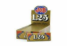 JOB 1.25 Gold Rolling Papers 24 Booklets 🔥🔥Free Shipping🔥🔥