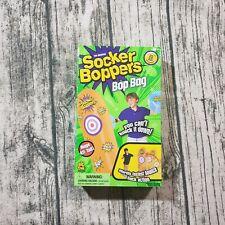 Socker Boppers Bop Bag - Standing Inflatable Punching Bag for Kids - 4' - Orange