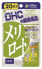 """DHC Melilot Diet Supplement 20 days 40 tablets from """"JAPAN Quality"""" Free Ship"""