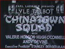 Chinatown Squad 1935 Crime Thriller w/Lyle Talbot, Valerie Hobson