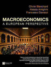 Giavazzi & Blanchard: Macroeconomics a European perspective by Alessia Amighini,