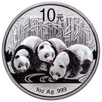2013 China Silver Panda 1 oz Silver Coin • GEM .999 Fine BU New In Mint Capsule!