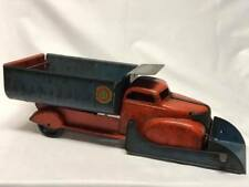 Marx Lumar Contractors Steel Toy Dump Truck / Plow