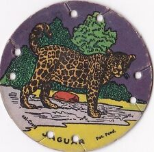 1930's M30 St. Louis Seal Craft Animal Series Disk Jaguar #18