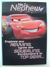 Disney Cars birthday card for a NEPHEW by Hallmark - 11118240