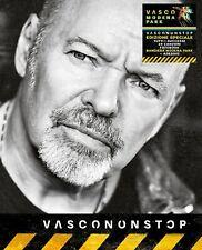 VASCO ROSSI VASCONONSTOP COFANETTO 4CD+BANDIERA MODENA PARK 01-07-17+ADESIVO