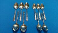 10 Teaspoons & Table Spoons Oneida CHERIE Deluxe Stainless