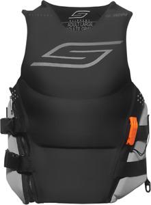 Slippery Black/Charcoal Medium Array Side-Entry Neo Life Vest/Jacket 3240-0936