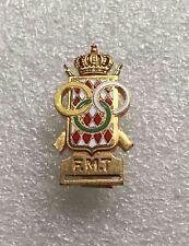 Rare Vintage pin MONACO SHOOTING OLYMPIC FEDERATION enamel by DRAGO PARIS