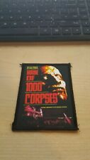 HOUSE OF 1000 CORPSE PATCH ROB ZOMBIE SID HAIG DEVILS REJECTS THREE FROM HELL