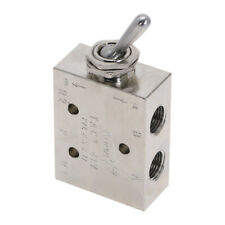 Air Pneumatic 2 Position 5 Way Toggle Switch Mechanical Valve 18 Tac2 41v