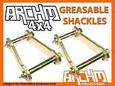 NISSAN PATROL MQ MK ARCHM4X4 REAR GREASABLE SHACKLES - SWING