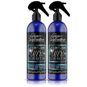 Iron Fallout Remover X 2 Car Wheel Cleaner Brake Paintwork Fall Out PH Neutral
