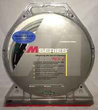 Monster Cable M-Series MCX-1s Speaker Center Channel Subwoofer 10' Master Pin
