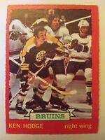 1973-74 OPC O-Pee-Chee #26 Ken Hodge Boston Bruins - EX