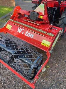 Winton Stone burier 105 compact tractor Compact Tractor Attachments rotorvator