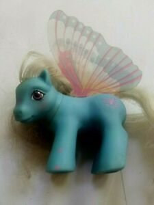Vintage My Little Pony 'Glow' Butterfly little Pony 1988