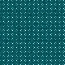 Baumwollstoff Pünktchen petrol METERWARE Webware Popeline Stoff Dots