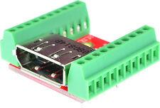 Displayport Female connector Breakout Board, adapter, elabguy DP-F-BO-V2A, VGA,