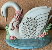 Vintage Cast Iron Swan Door Stop Midwest Importers of Cannon Falls inc