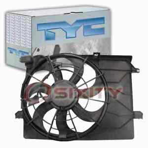 TYC 622700 Dual Radiator & Condenser Fan Assembly for 25380 2S500 na