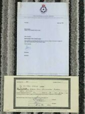 1992 HALIFAX TOWN - FOOTBALL LEAGUE MEMBERSHIP CERTIFICATE (LAST LEAGUE SEASON)