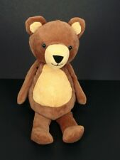 Manhattan Toy Folksy Foresters Bear Brown Corduroy Plush Toy 13""