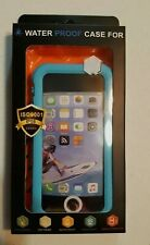 iPhone 5 Waterproof Blue Case Shock and Dirt Proof Snow Proof Scratch Resistant