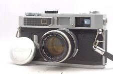 @ Ship in 24 Hrs! @ Canon 7 Film Rangefinder Camera + 50mm f1.8 Lens from Japan