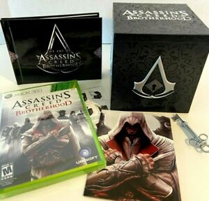 Assassin's Creed: Brotherhood -- Collector's Edition (Xbox 360, 2010)