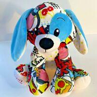 "Fiesta Pop Art Dog ""Cherry On Top"" Carnival Cruise Logo 10"" Plush Stuffed Toy"