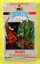 Moses ~ Greatest Adventure Bible Stories New VHS Movie Hanna-Barbera Video