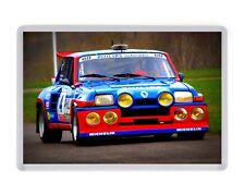 Renault 5 GT Turbo Fridge Magnet Birthday Fathers Mothers Day Christmas Gift