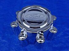 99 - 04 Ford F250 F350 Excursion Super Duty 8 Lug Chrome Center Cap  Wheel cap