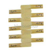 10pcs LADE E-Flat Alto Saxophone Reed with Transparent Case Strength 2.5