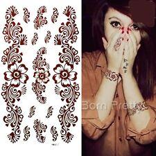 Wasserfest Einmal Körper Aufkleber Hauttattoo Schmuck Body Art DIY Tattoo
