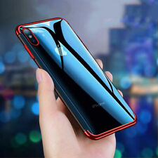 Funda Para IPHONE 8 7 6s Plus XR XS Max X 360 Híbrido Antichoque Gel de Silicona