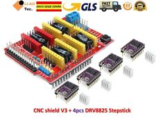 CNC Shield V3 Expansion Board + 4pcs DRV8825 Stepper Motor Driver 3D Printer GLS