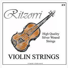 High Quality Violin Strings Set 4/4 3/4 - Silverwound -  Superb Sound