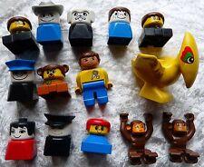Lego  Duplo viele Figuren und Figurenköpfe  (DU 37-175)