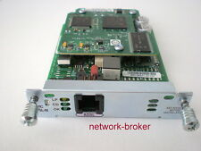 Cisco HWIC - 1 ADSL M 1-port ADSL HWIC w/Annex M Interface Card avec funktionsprot