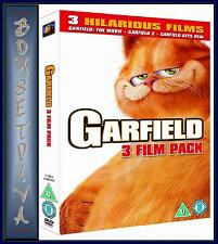 GARFIELD 3 MOVIE BOXSET  **BRAND NEW DVD BOXSET **
