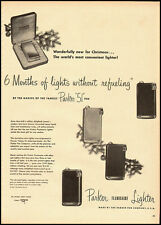 1953 vintage ad for Parker Flaminair Cigarette Lighter -061212