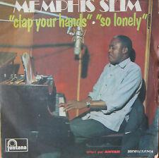 """Vinyle 45T Memphis Slim """"Clap your hands"""" - MONO - série """"offert par ANTAR"""""""
