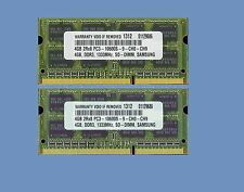 8GB (2X4GB) Memory RAM for Toshiba Satellite L675 L675D-00V M505-S4020