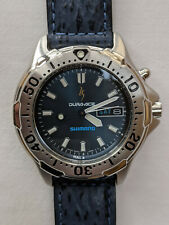 Seiko 5M43-0C30 Kinetic diver's watch for Shimano Dura-Ace 25th Anniversary NOS